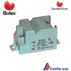 transfo haute tension   ZIG 2 pour l'allumage automatique BULEX 05210600 transformateur haute tension