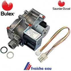 bloc gaz,  BULEX S 1071500  vanne de régulation de la chaudière murale , opérateur gaz SAUNIER DUVAL