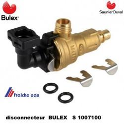 disconnecteur BULEX S 1007100 décharge du mécanisme de remplissage SAUNIER DUVAL