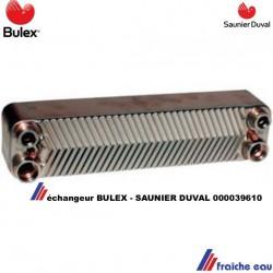 échangeur à plaques BULEX A 000039610 pour la production d'eau chaude sanitaire directe de la chaudière THERMOMASTER  32 - 50