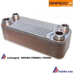 échangeur sanitaire à plaques, RAPIDO. 550980