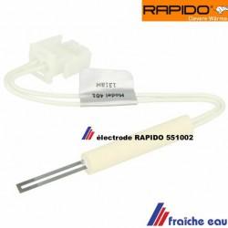 bougie d'allumage 24 volts ,amorce à incandescence de chaudière condensation RAPIDO-FERROLI