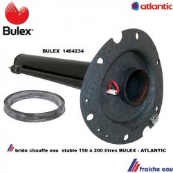 flasque  6 trous BULEX  1464234 pour boiler en pose libre au sol BE. 100..200 avec joint et anode à courant imposé  ACI
