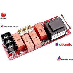 carte de puissance ATLANTIC 070210  et BULEX triphasé 400 volts  pour chauffe eau