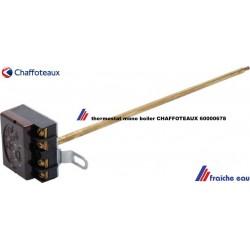 thermostat mono pour boiler réglable , canne 6 mm longueur 270 mm chaffoteaux  article 60000678