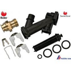 raccord hydraulique eau froide type FE en forme de Z  1024900 BULEX et SAUNIER DUVAL