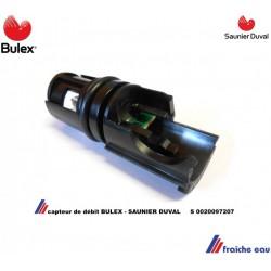 capteur de débit BULEX S 0020097207, détection du flux de passage d'eau SAUNIER DUVAL pour chaudière THEMACONDENS