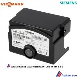 relais, automate de combustion ,bloc de contrôle VIESSMANN  LMO 14 111 C 2 V