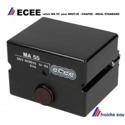 relais, automate, bloc de contrôle manager de combustion arque : ECEE type MA55