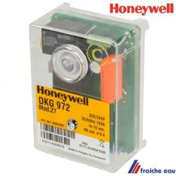 relais SATRONIC coffret de sécurité de brûleur gaz DKG 972 modèle 27