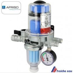 AFRISTO TIGER LOOP ,  filtre mazout floco- top avec manomètre, dégaze le carburant  , séparation de la mousse
