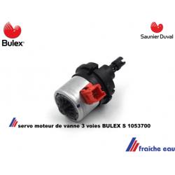 moteur de vanne delangeuse BULEX  S 1053700 servomoteur de vanne diviseuse  SAUNIER DUVAL