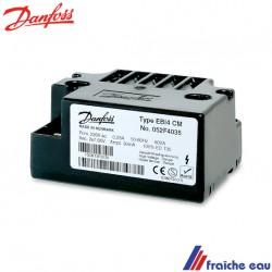 unité d'allumage, transformateur haute tension DANFOSS  EBI 14 type 052F 4035