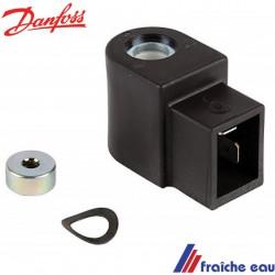 bobine DANFOSS pour brûleur fioul type 071 N 0010 pour vanne normalement fermée