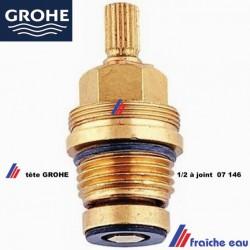 """tête de robinet 1/2"""" à joint  chaud / froid 07146  GROHE, mécanisme de robinet, cartouche à joint de melangeur"""