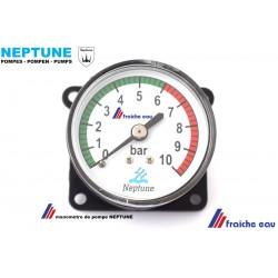 indicateur de la  pression de sortie manomètre de groupe hydrophore  neptune maxilent pour FS 34 et FS 35