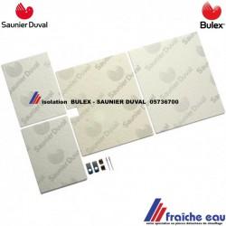 jupe isolante, protection thermique  BULEX 05736700 , isolation de chaudière à condensation SAUNIER DUVAL