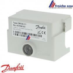 relais ,manager de combustion,  bloc de contrôle de brûleur fioul DANFOSS OBC 82-11