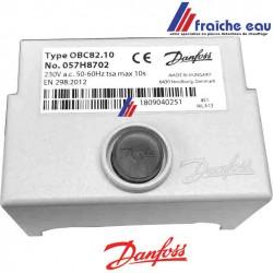 relais , manager de combustion fuel, bloc électronique DANFOSS OBC 82-10