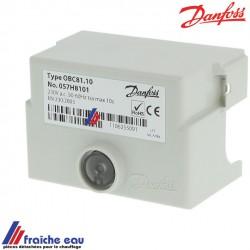 relais ,manager de combustion, bloc de contrôle de brûleur mazout DANFOSS OBC 81-10