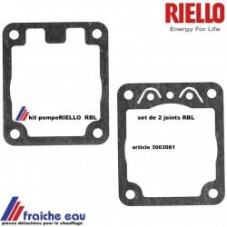 paire de joint de pompe RIELLO 3003081 , set d'entretien de pompe suntec