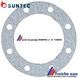 joint de pompe à mazout SUNTEC série  J, joint  périphérique du couvercle de la pompe fioul du brûleur à mazout