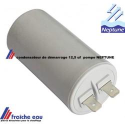 condensateur de démarrage de pompe et groupe hydrophore  neptune