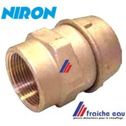 raccord à mécanique  pour tubes  NIRON, NUPI, GIACOGREEN, FUSIOTHERM  32 mm filetage 4/4