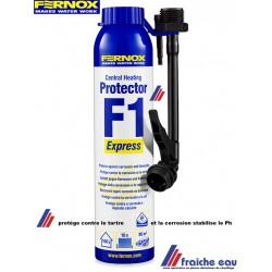 protection FERNOX f1 pour circuit de chauffage  en spray à injecter directement dans le radiateur
