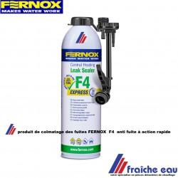 produit  de colmatage pour l'installation de chauffage  FERNOX   F4 ,empêche  les pertes d'eau ,
