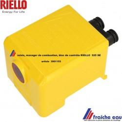 relais RIELLO 3001153, automate de combustion 525 SE, boîtier de contrôle