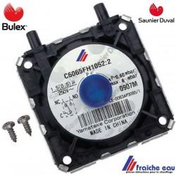pressostat air BULEX 05600800 capteur de pression différentielle SAUNIER DUVAL , TW CLIPPER, détecteur de pression