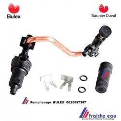 groupe de remplissage de chaudière BULEX 0020097387, alimentation du circuit d'eau de la chaudière SAUNIER DUVAL