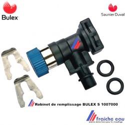 pièces détachées , robinet , vanne de remplissage BULEX S 1007000, robinet d'entrée SAUNIER DUVAL