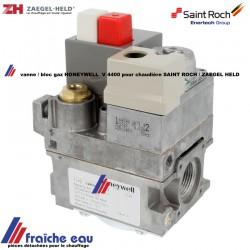 vanne / bloc gaz HONEYWELL V 4400 pour chaudière atmosphérique  SAINT ROCH et ZAEGEL HELD