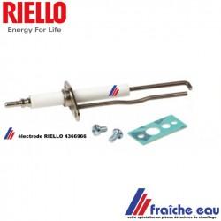 électrode d'allumage et de détection RIELLO 4366966 , pour chaudière gaz murale RESIDENCE CONDENS