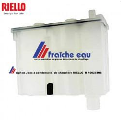 siphon de chaudière à condensation RIELLO R 10028405, coupe odeur , décharge des condensats