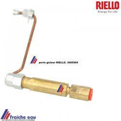 porte gicleur RIELLO 3005994 de brûleur à mazout MECTRON , support , ligne gicleur avec prise de pression médiane