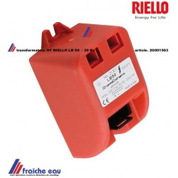 transfo d'allumage haute tension  RIELLO type LB50 , article 20001563