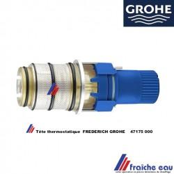 cartouche thermostatique GROHE 47175 , tête à cire avec thermostat incorporé  FREDERICH GROHE