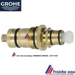 cartouche thermostatique GROHE 47217000 axe compense , insert de robinet avec thermostat de bain et douche