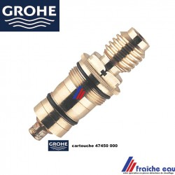 cartouche thermostatique GROHE 47450, insert de robinet thermostatique FREDERICH GROHE  pour mitigeur douche et bain