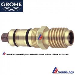 cartouche thermostatique GROHE 47349 GROHTHERM 3000 AM tête de mitigeur avec thermostat douche et bain douche