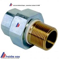 raccord diélectrique 3/4 M F pour isolation  contre le courant galvanique