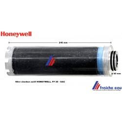 cartouche filtre charbon actif HONEYWELL FF 20 avec 2 joints o ring pour la purification de l'eau dans le filtre TRIPLEX