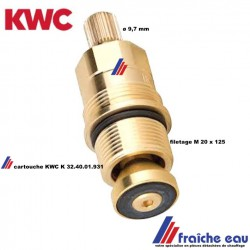 cartouche a joint  de robinet cuisine  KWC joint plat 32-40-01