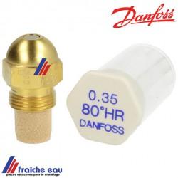gicleur DANFOSS cône S-H-SR-HR- 45°-60°-80° de 0,65 à 0,75 gal/hà Bruxelles, belgique