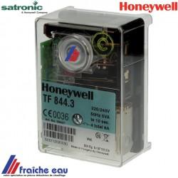 relais, automate de combustion HONEYWELL TF 844- 3 , bloc de contrôle SATRONIC de brûleur fioul BROTJE