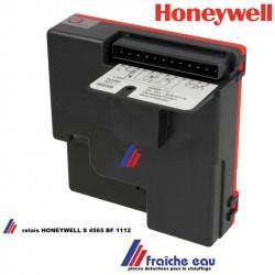 relais HONEYWELL S 4565 BF 1112 ,automate de contrôle , coffret de sécurité de chaudière gaz, Gasfeuerungsautomat