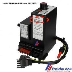 relais pour brûleur de chauffage BRAHMA  ER1 type 18220351 pour brûleur  ELCO